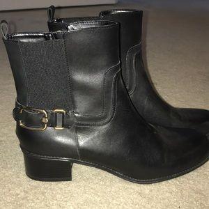 women's 9.5 black bandolino boots